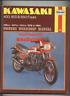 Kawasaki 400 500 550 Fours (1979-1984) Haynes Repair Manual GPZ GT Z KZ ZR CK26