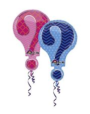 "28"" Anagram Double Sided Gender Reveal Mylar Foil Balloon"