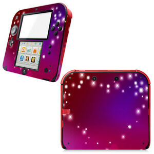 Pink Heart--- Vinyl Decal Skin Sticker Cover for Nintendo 2DS Console