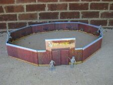 Marx Fort Apache Painted Metal Toy Soldier Western Playset Indian 1/32 54MM