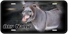 Donkey Aluminum Any Name Novelty Auto Tag License Plate New