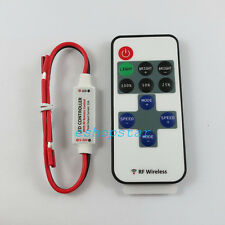 RF Wireless Remote Control Mini Dimmer for Solid Color 5050 3528 5630 LED Strip