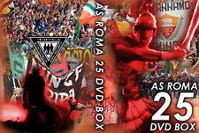 25 DVD COFANETTO ULTRAS ROMA CURVA SUD (FEDAYN,BOYS,CUCS,GIOVENTU,ASR,AS ROMA)