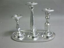 Large Pageantry 3 FT Candle Holder Silver Chandelier Candelabrum 31 CM Designer