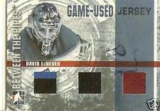 2006/07 David Leneveu Between The Pipes Triple Jersey