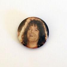"""Vintage Eddie Van Halen photo pinback 1.75"""""""