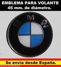 Emblema logo BMW, de 45 mm. centro de volante