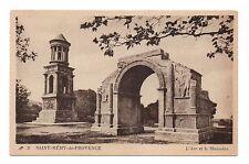13 - cpa - SAN REMI DE PROVENCE - El arco y Mausoleo (C2027)