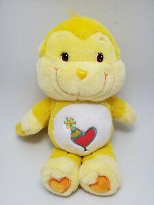 """Care Bear Cousins Playful Heart Monkey 13"""" Plush 2004 Play Along TCFC Stuffed"""