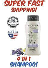 WAHL 4-In-1 Calming Pet Shampoo Cleans Conditions Detangles & Moisturizes 24 oz