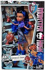 Monster High Art Class Doll Robecca Steam