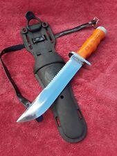 SEA HAWK Dive Knife Vintage U.S. Divers Aqua Lung