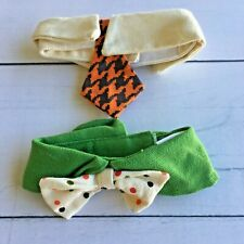 Cat or Small Dog Tie & Bow Tie