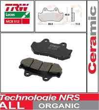 2 Plaquettes frein Arrière TRW Lucas MCB512 Honda CB 1100 F (SC11) 83-
