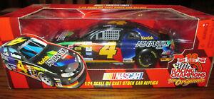 New 1999 Racing Champions 1:24 NASCAR Kodak Advantix Cast #4 Car Bobby Hamilton
