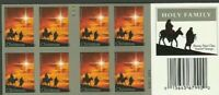# 4711c HOLY FAMILY FOREVER IMPERF BOOKLET PANE OF 20 stamps MNH