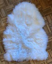 Lammfell Schafsfell Weiß Kibek