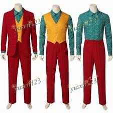 Joker Clown Costume Cosplay Rosso Vestito Da Uomo Su Misura Suit Blazer Costume