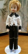 """Rare Antique 11 1/2"""" Barbie Clone Doll, Eegee - 1963 Shelley Doll with pull ring"""