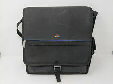 Sony Playstation PS1 PS2 Official Black Messenger Bag Carrying Case Travel Bag