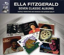 Ella Fitzgerald SEVEN (7) CLASSIC ALBUMS Swinging Christmas IN BERLIN New 4 CD