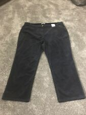 M&s Classic Standard Rise Cord Trouser Pants Size 24 Long BNWT Fre Sameday P&p