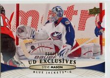 11/12 UPPER DECK EXCLUSIVES #401 STEVE MASON 034/100 BLUE JACKETS *46727