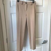 Womens J. Crew Stretch Khaki Pants Slacks Workwear NWT!!!  Size 00