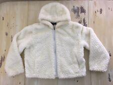 STEVE MADDEN WHITE COAT - Faux fur, Hooded, Zippered, XXL, FABULOUS!