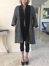 Zara Zaraknit Women Cardigan Size M Black And White