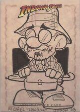 """Indiana Jones Heritage - Michael Duron """"Henry Jones Sr"""" Sketch Card"""