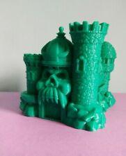 """3.25"""" Miniature Heman MOTU Grayskull Castle-3D Printed Fan Art Model Statue Toy6"""