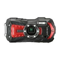 "Ricoh WG-60 Waterproof Digital Camera 2.7"" LCD 5x Optical Zoom Lens Red NEW"