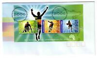 """2006 FDC. Australia. 18th Commonwealth Games. M.S. PictFDI """"MELBOURNE"""""""