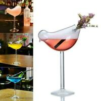 200ml Bird Shaped Glass Wine Cup Whiskey Drinking Tumbler Glasses Cocktail Q9P3
