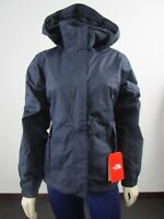 NWT Womens The North Face Resolve 2 Waterproof Dryvent Hooded Rain Jacket Navy