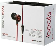 Genuine Monster iBeats, Beats by Dr. Dre iBeats Headphones - Black With Pouch
