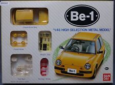 Bandai Nissan Be-1 Metal 1/43 Scale Car Plastic Model Kit Display PM592