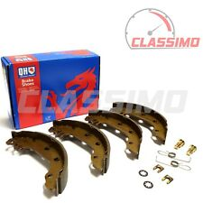 Rear Brake Shoes set of 4 for FORD FIESTA MK 1 inc XR2 - 1975 to 1983 - QH