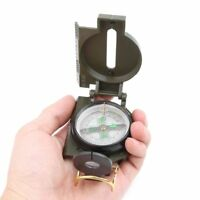 Portable Folding Compass Military Camping Hiking Guider Survival Outdoor Tool