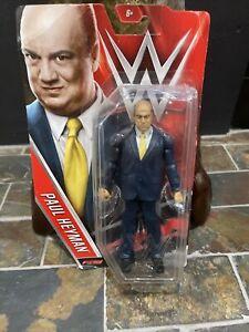 WWE Mattel Basic PAUL HEYMAN Action Figure Series 63 WWF ECW WCW NWA AEW