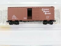 N MTL Micro Trains 20436/3 CP CPR Canadian Pacific 40' Box Car #51096 RTR Model