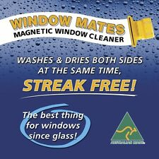 Magnetic Window Cleaner for Double & Single Glazed Normal Glass up to 32mm