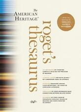 The American Heritage Roget's Thesaurus by American Heritage Dictionary...
