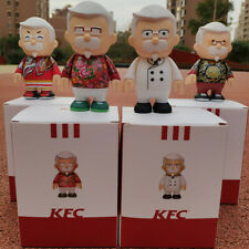 KFC Colonel Sanders Figure China Nanjing Traditional Clothes Ver. 4 pcs Set