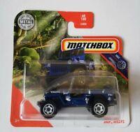 Jeep Willys Matchbox MBX Jungle 68/100 2020 Mattel Nuevo sin abrir