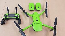 Matt Lime Green DJI Mavic Pro waterproof  vinyl skin / wrap. PVC decal. UK stock