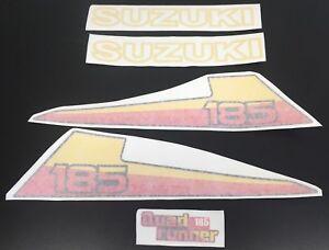 Suzuki LT 185 ATV Quad Runner decal sticker pack