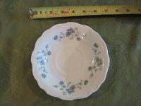 "Johann Haviland China replacement part Blue Garland coffee saucer Plate 6 1/4"""
