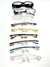+4.00 LOT OF 9 NEW Assorted Reading Glasses Readers Fashion Eyeglasses ATL9/19